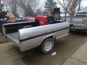 Mobile welding wagon ready