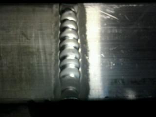 Aluminum TIG welding