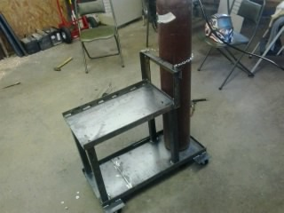 Welding cart that I built