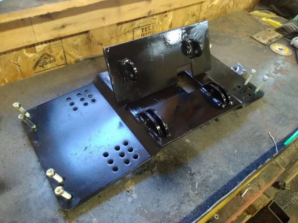 ATV mounting brackets