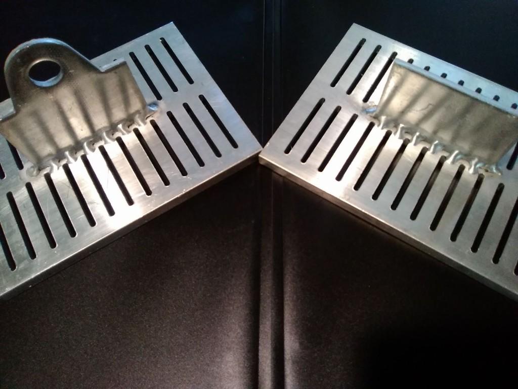 TIG Aluminum spot weld