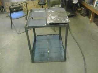 Welding and assembling MIG welding cart