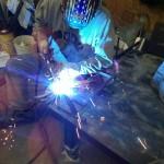 Andre welding custom stand