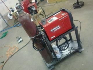Welding cart that I built